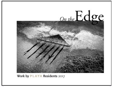 On the Edge, PLAYA's 2017 Anthology, Available Here