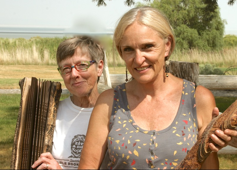 Stories in Wood: Suze Woolf and Diana Six